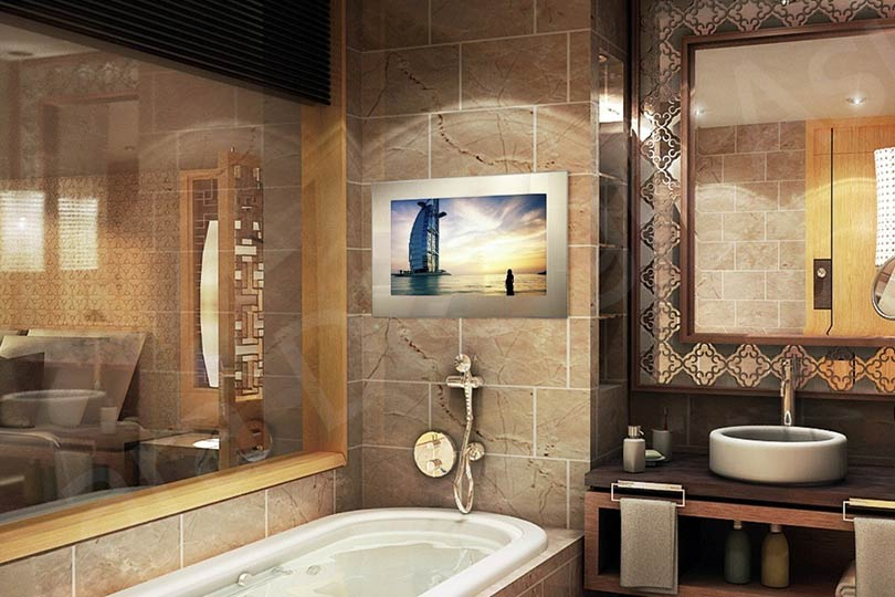 tech2o bathroom televisions